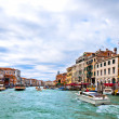 Grand Channel in Venice, Italy — Stock Photo