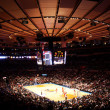Madison square garden NBA knicks match - Stock Photo