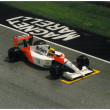 Ayrton senna in 1991 Imola F1 Gran Prix - Stock Photo