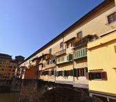 佛罗伦萨的庞特韦奇奥 — 图库照片