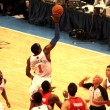 Stock Photo: Amare Stoudemire getting ball during NBknicks match at madison square garden