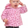 Angry toddler — Stock Photo #8146602