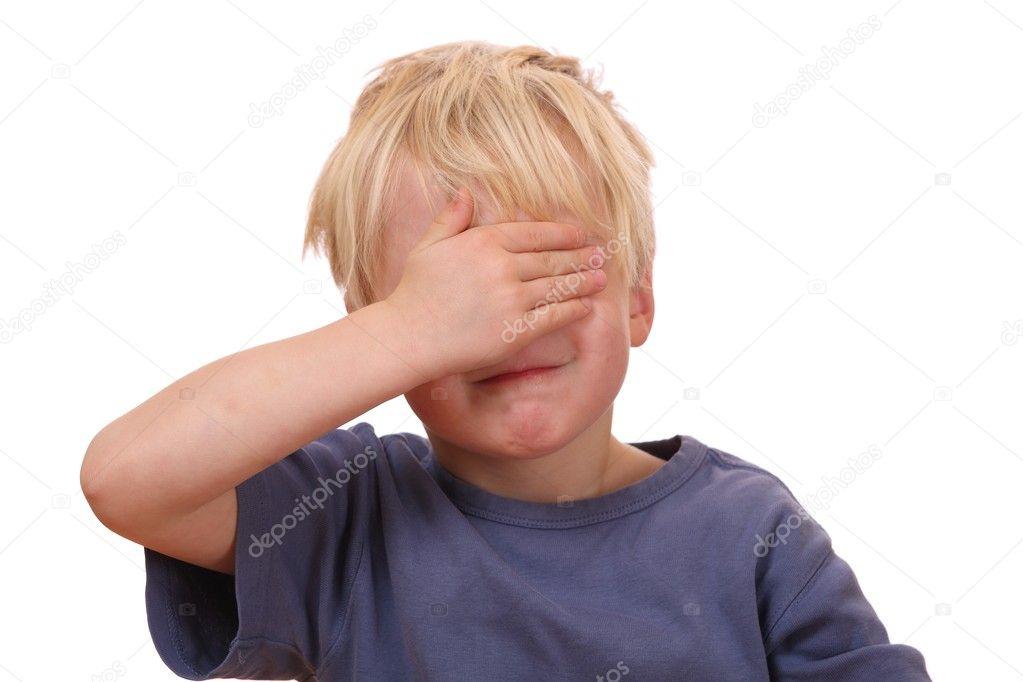 Испуг у ребенка фото