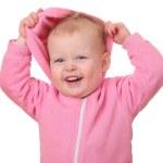 Smiling toddler — Stock Photo #8587150