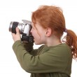 Young photographer — Stock Photo #9085893