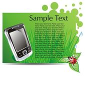 Tablet Computer & Mobile Phone — 图库矢量图片