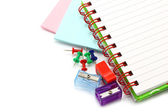 Stationery items close-up — Stock Photo