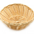 Wicker plate — Stock fotografie