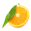 Orange segment — Stock Photo #8272495
