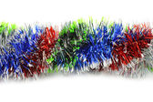 Color tinsel line — Stock Photo