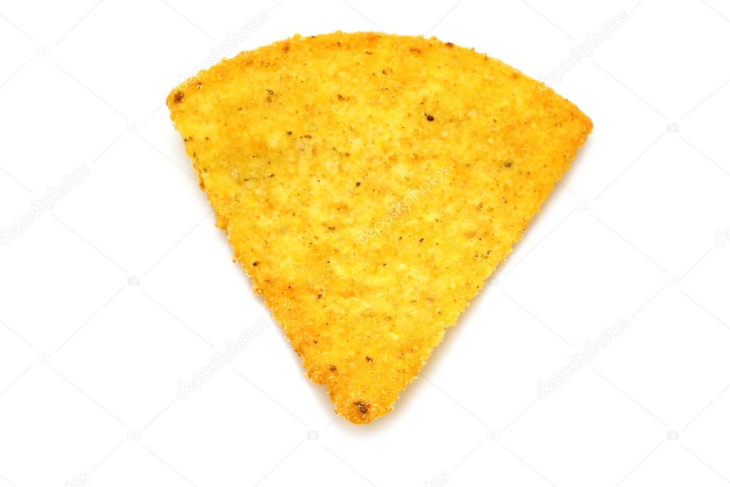 Mexican nachos on white background — Stock Photo #8272700