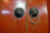 中国の伝統的なドア — ストック写真