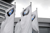 Bmw flags — Stock Photo