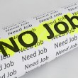 No Job conception — Stock Photo #8097471