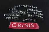 Crisis concept — Stock Photo
