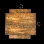 Wooden rectangular piece — Stock Photo