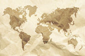 Dot World old style map background — Stock Photo