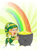 Happy St. Patrick — Stock Vector