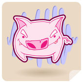 Arg gris — Stockvektor