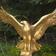 Gold Eagle Statue — Stock Photo