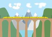 High Speed Train — Stock Vector