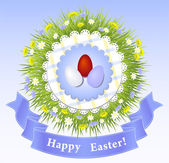 Easter Congratulation — Vettoriale Stock