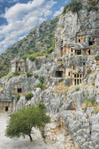 Ancient town Demre in Turkey — Stock Photo