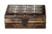 Baú de madeira — Fotografia Stock