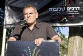Nitzan Horowitz speaking before the participants of Pride Parade — Stock Photo