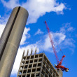 Scyscraper building site - Stock Photo