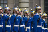 Stockholm Palace Guard — Stock Photo