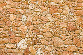 Raw stone wall — Foto Stock