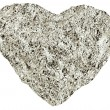 Heart of the foil — Stock Photo
