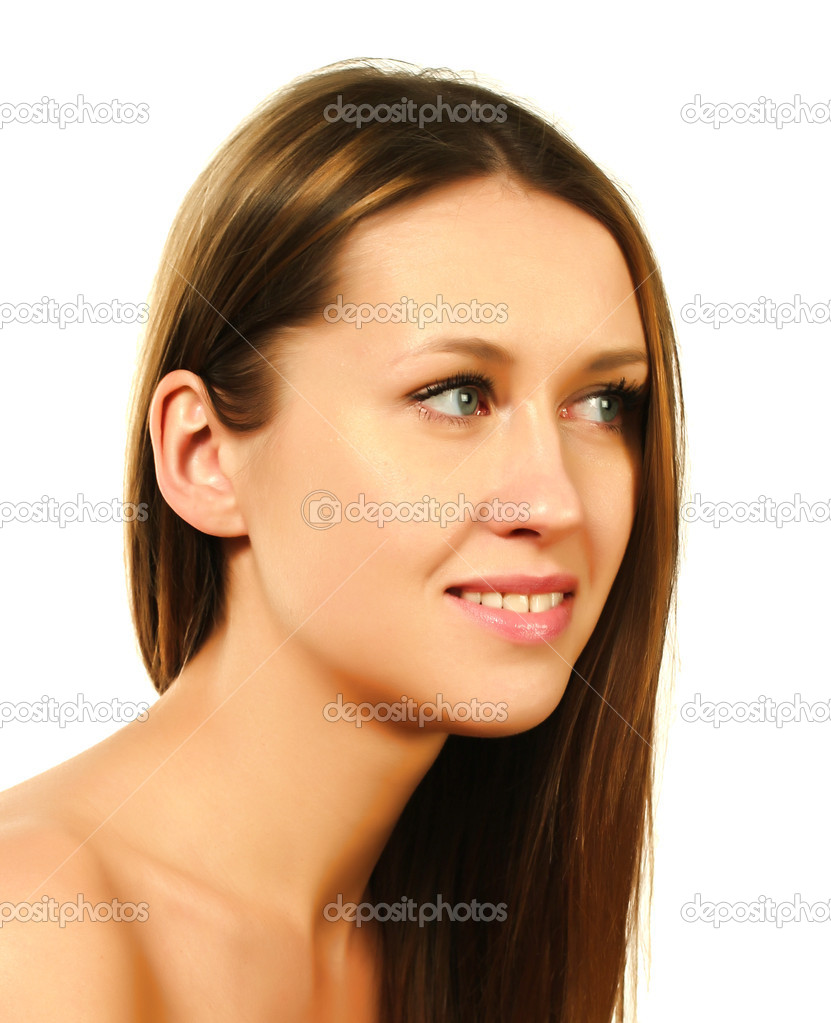 Portrait of a beautiful girl  Stock Photo #9798779