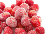 Sweet frozen strawberries — Stock Photo