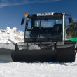 A snow groomer — Stock Photo