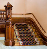 Vintage staircase — Stock Photo