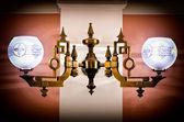 Antique lamp — Stock Photo