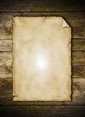 Grunge en blanco de papel — Foto de Stock