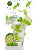Mojito drink — Stock Photo