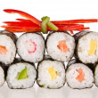 Sushi pieces - Stock Photo