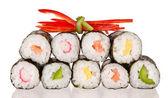 Sushi pieces — Stock Photo