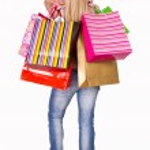 Girl shopping — Stock Photo #8859956