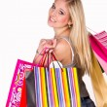 Girl shopping — Stock Photo #8859971
