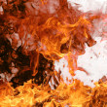 fond de feu — Photo