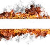 Oheň proužek — Stock fotografie