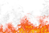 Fire background — Stock Photo