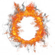 Fire ring — Stock Photo #8996782