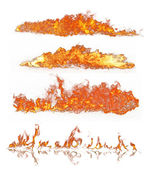 Fire collection — Stock Photo