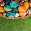 Easter basket — Stock Photo